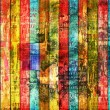 Grunge abstract background with old torn posters - Photo