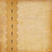 çerçeve ve süslü dantel ile klasik albüm — Stok fotoğraf