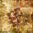 Grunge abstract background with old torn posters - Stock Photo