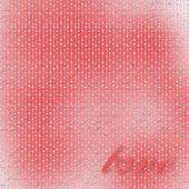 Red abstract backdrop for greeting card to holiday — Stock Photo