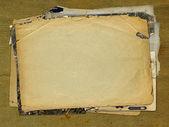 Grunge entfremdete papier design im scrapbooking-stil — Stockfoto
