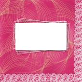 Vackra abstrakt bakgrund med spets för gratulationen eller i — Stockfoto