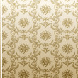 Seamless flower wallpaper Pattern beige — Stok Vektör