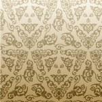 teste padrão floral de fundo sem emenda vetor vintage — Vetorial Stock