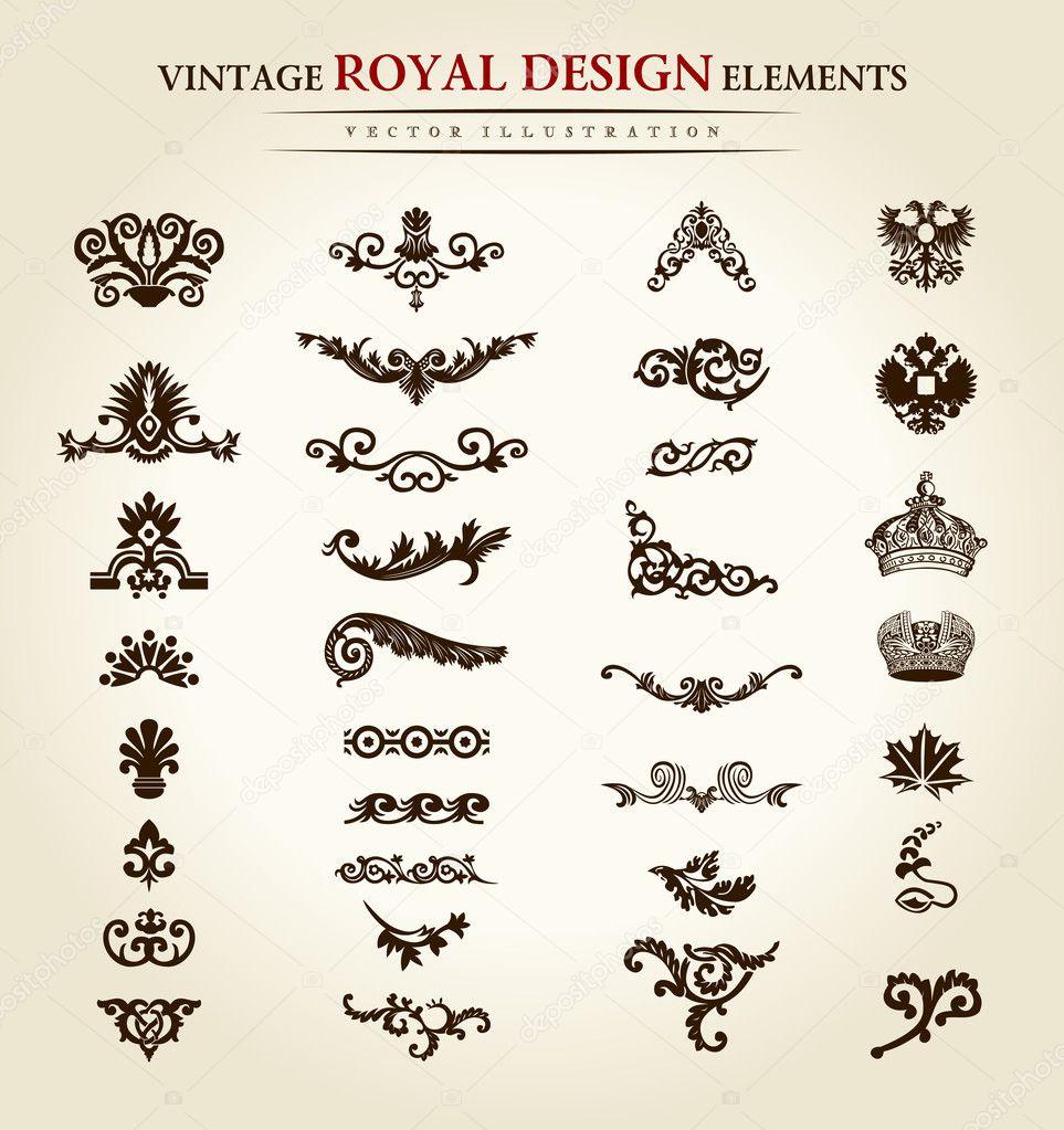 Vintage Flower Tattoo Designs