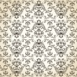 Seamless background vintage vector retro Pattern — Stock Vector