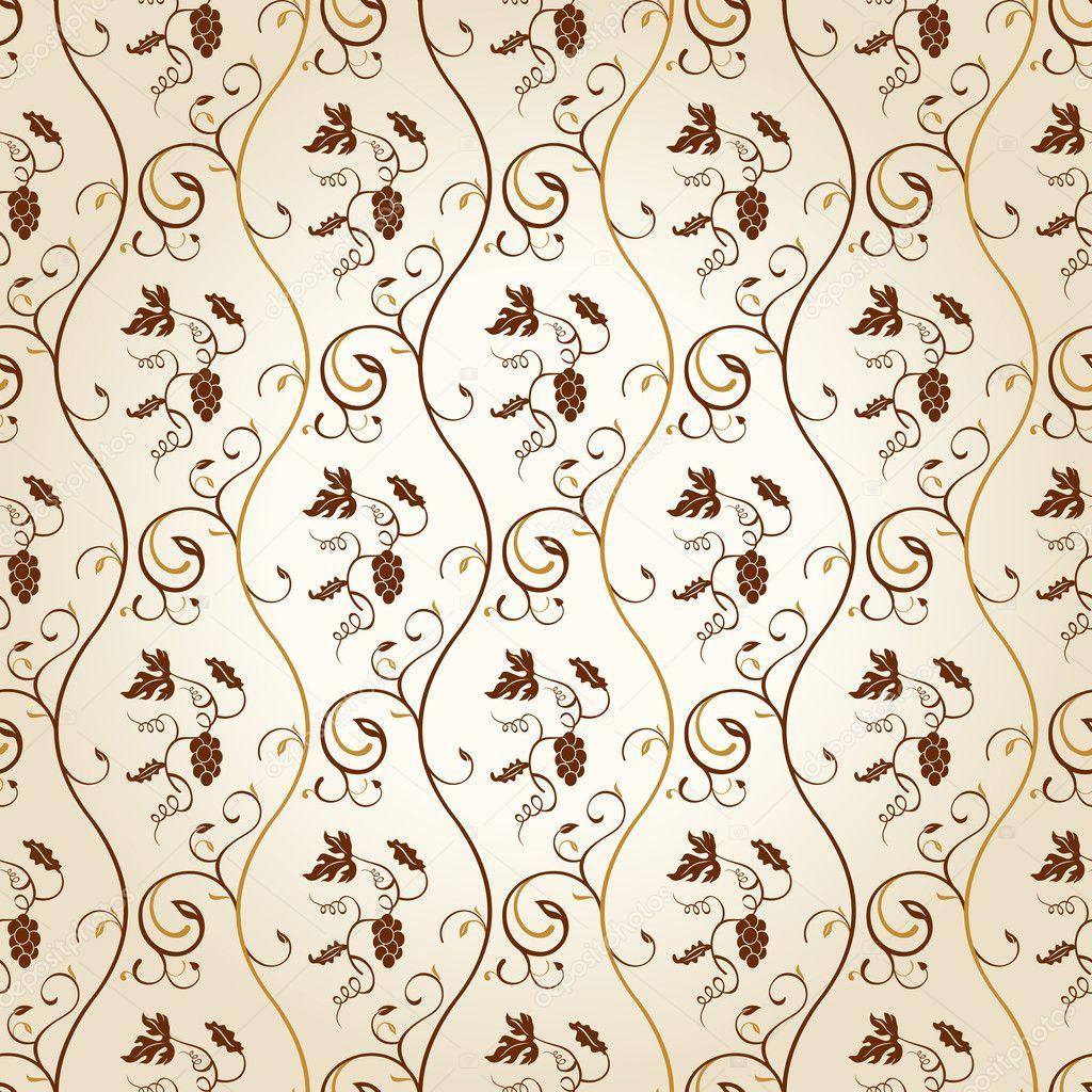 Ornate Wallpaper Design : Senza soluzione di continuit? per il desktop sfondo uva