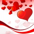 Valentine`s Day card - Stock vektor