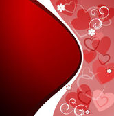 Valentine`s Day card — Vector de stock
