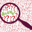 Answer found - Stock Vector