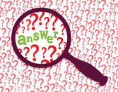 Answer found — Stock Vector
