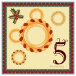 The 12 Days of Christmas — Image vectorielle