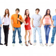 Group of students — Stock Photo #5302546