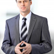 Businessman in office — Stock Photo #5353577