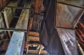 заброшенный завод — Стоковое фото