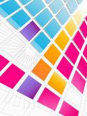 Futuristic Tiled Background — Stock Photo