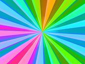 Multicolored Rays — Stock Photo