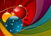 Multicolored Christmas Background — Stock Photo