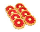 Reçelli kurabiye — Stok fotoğraf