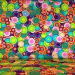 Vibrant Bubbly Background - Stock Photo