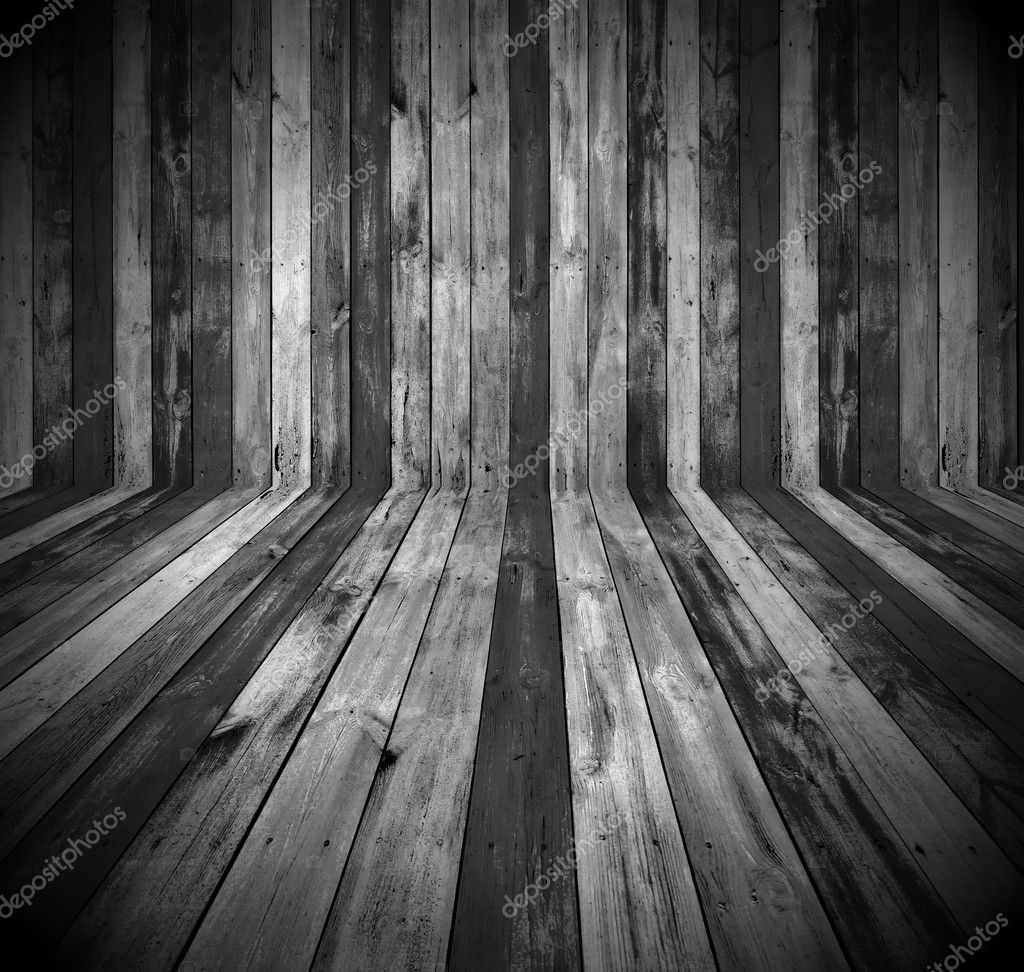 A dark wooden room as a background — Stock Photo #5231252