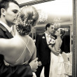 Bride and groom — Stockfoto #4453210