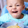 Baby eat - Stock Photo