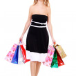 Shopping young woman — Stock Photo #5122154
