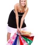Shopping woman smiling — Stock Photo #5122571