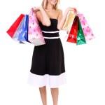 Shopping woman smiling — Stock Photo #5122583