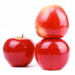 Red fresh apple — Stock Photo
