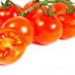 Many cherry tomatoes - Stock Photo