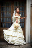 Portrait of bride — Stockfoto