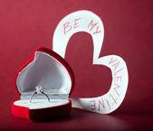 Be my valentine — Stock Photo
