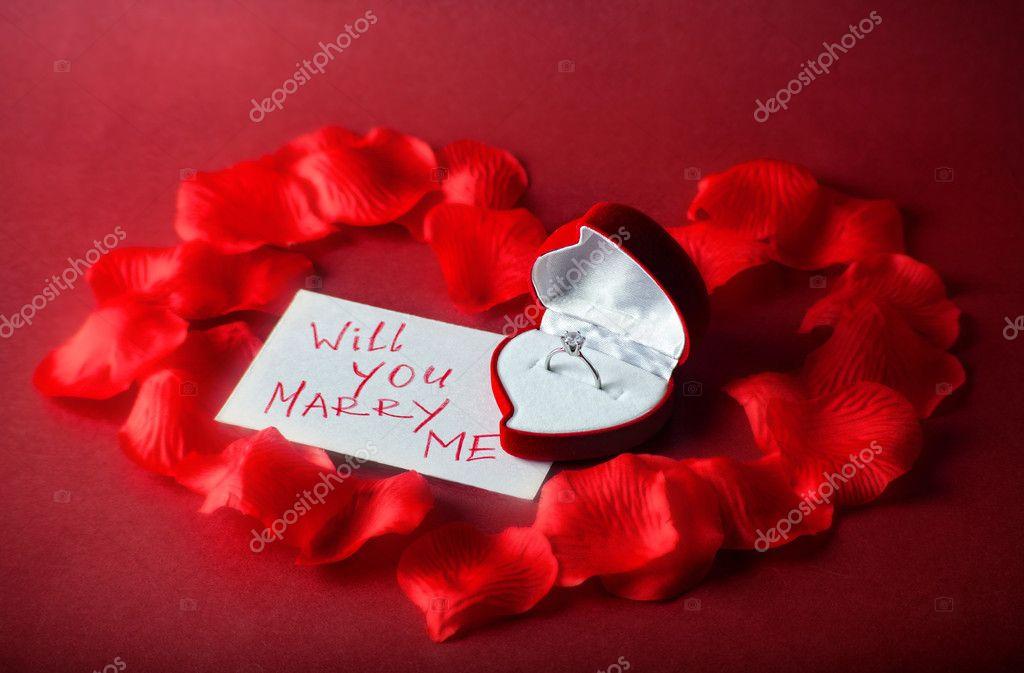 Will you marry me — Stock Photo © JuliaSha #4220586