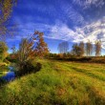 Sunny autumn day — Stock Photo