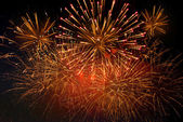 Festive fireworks — Stock Photo