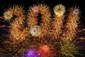 Fireworks 2011 — Stock Photo