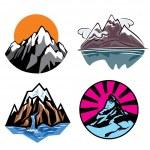 Mountains — Stock Vector