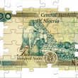 Two hundred naira puzzle - Stock Photo