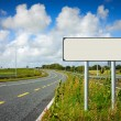Road Sign pole — Stockfoto