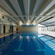 Swimming pool interior — Stock Photo