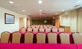 Wnętrza pokoju konferencyjnego — Zdjęcie stockowe