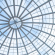 Glass panel roof - 图库照片