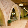 Arched corridor - Stock Photo