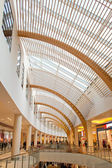 Glass panel roof — Stock Photo