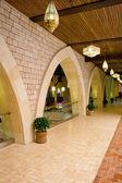 Arched corridor — Stock Photo