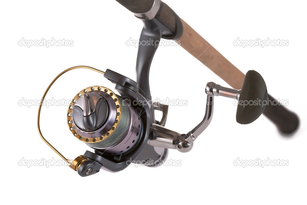 Modern reliable coils for fishing — Stock Photo #4122307