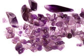 Processed amethyst. — Stock Photo