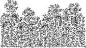 Изысканный цветочный фон Ccxxxvii — Cтоковый вектор